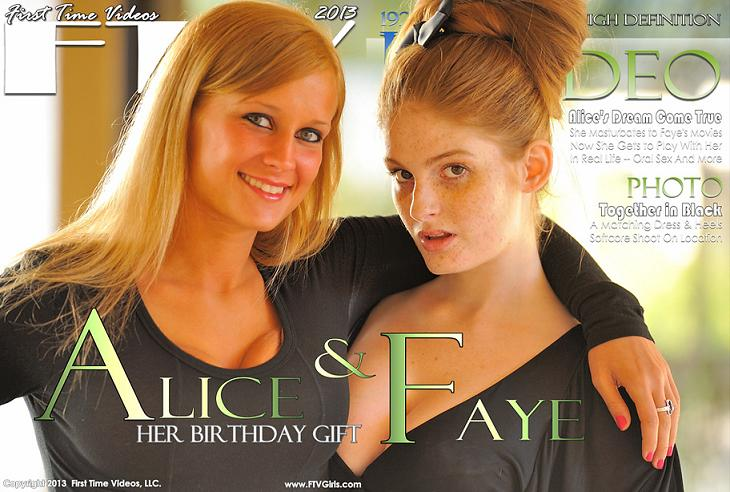 Alice & Faye - Her Birthday Gift