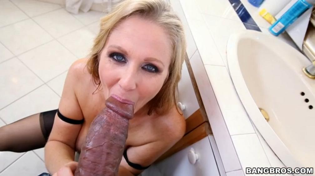Hot MILF wants to taste black dick