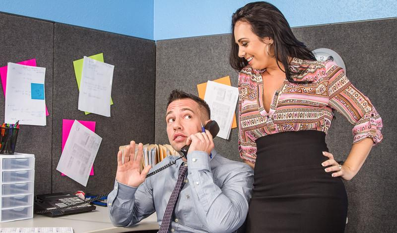 Holly West in Naughty Office